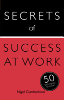 Secrets of Success at Work: 50 Techniques to Excel [Pdf/ePub] eBook