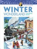Creative Haven Winter Wonderland Coloring Book