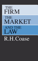 The Firm, the Market, and the Law Pdf/ePub eBook