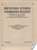 Prevention Funding Information Bulletin