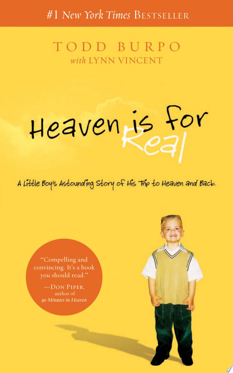 Heaven is for Real Deluxe Edition banner backdrop