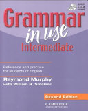 Grammar in Use Intermediate Without Answers with Audio CD