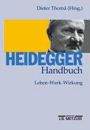 Heidegger-Handbuch