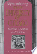 Remembering the University of Chicago