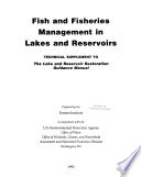 Fish and Fisheries Management in Lakes and Reservoirs