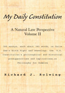 My Daily Constitution Vol. II