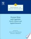 Human Sleep and Cognition  Part II Book