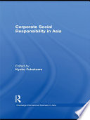 Corporate Social Responsibility in Asia Book