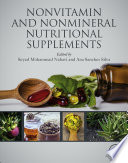 """Nonvitamin and Nonmineral Nutritional Supplements"" by Seyed Mohammad Nabavi, Ana Sanches Silva"