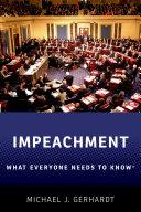 Impeachment: What Everyone Needs to Know® [Pdf/ePub] eBook