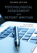 Psychological Assessment and Report Writing Book PDF