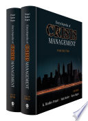 Encyclopedia of Crisis Management