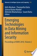 Emerging Technologies in Data Mining and Information Security Book