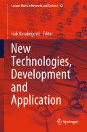 New Technologies, Development and Application Pdf/ePub eBook