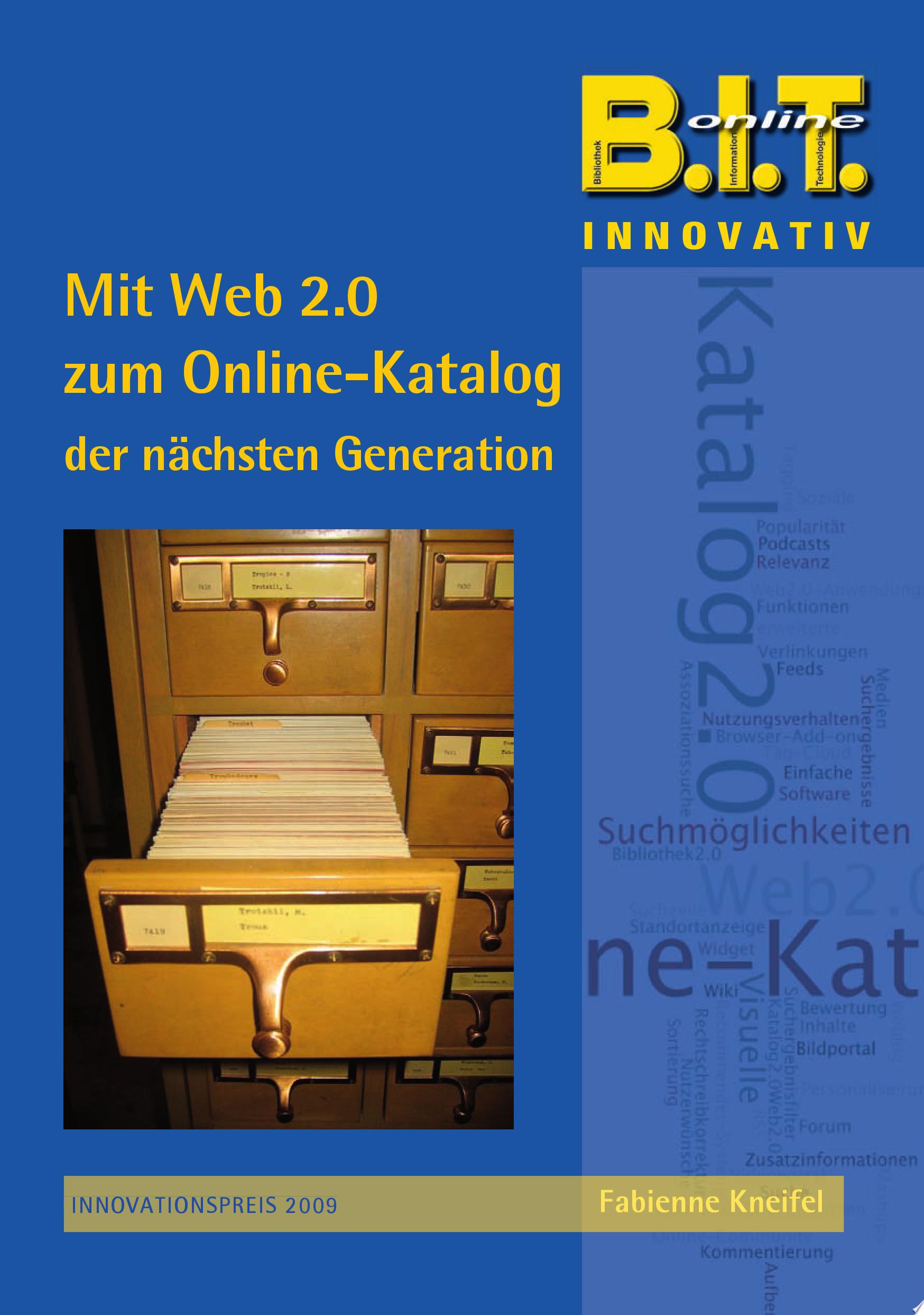 Mit Web 2 0 zum Online Katalog der n  chsten Generation