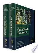Encyclopedia of Case Study Research