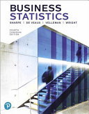 Business Statistics  Fourth Canadian Edition