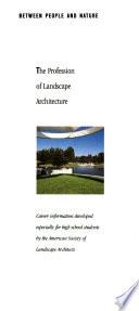 The Profession of Landscape Architecture