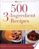 500 3-ingredient Recipes