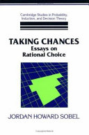 Pdf Taking Chances