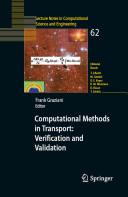 Computational Methods in Transport  Verification and Validation