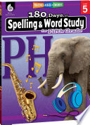 180 Days Of Spelling And Word Study For Fifth Grade