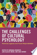 The Challenges of Cultural Psychology Book
