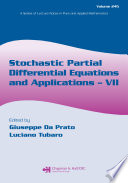 Stochastic Partial Differential Equations And Applications Vii Book PDF