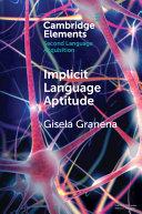 Implicit Language Aptitude
