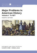 Major Problems in American History