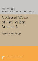 Collected Works of Paul Valery  Volume 2