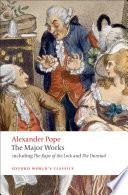 Alexander Pope Books, Alexander Pope poetry book