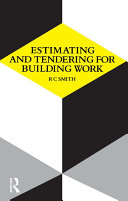 Estimating and Tendering for Building Work