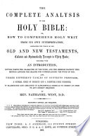 The Complete Analysis of the Holy Bible Book