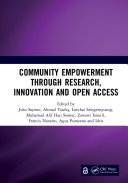 Community Empowerment through Research  Innovation and Open Access