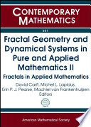 Fractal Geometry And Dynamical Systems In Pure And Applied Mathematics Ii Book PDF