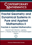 Fractal Geometry and Dynamical Systems in Pure and Applied Mathematics II Pdf/ePub eBook