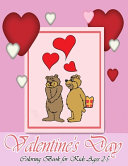 Valentine s Day Coloring Book for Kids Ages 2 5