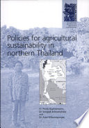 Policies for Agricultural Sustainability in Northern Thailand Book