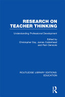 Research on Teacher Thinking
