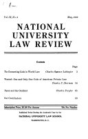 National University Law Review