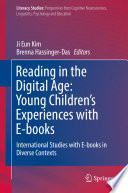 Reading In The Digital Age Young Children S Experiences With E Books