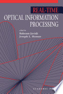 Real Time Optical Information Processing