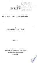 Essays Critical and Imaginative Book PDF