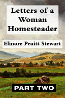 Letters of a Woman Homesteader VOL 2