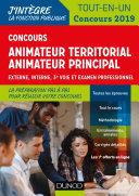 Pdf Concours Animateur territorial, animateur territorial principal Telecharger