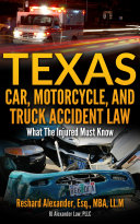 Texas Car  Motorcycle  and Truck Accident Law