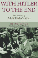 With Hitler to the End [Pdf/ePub] eBook
