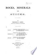 Rocks  Minerals and Stocks Book