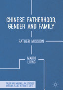 Chinese Fatherhood  Gender and Family